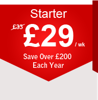Starter Package - £29 per week